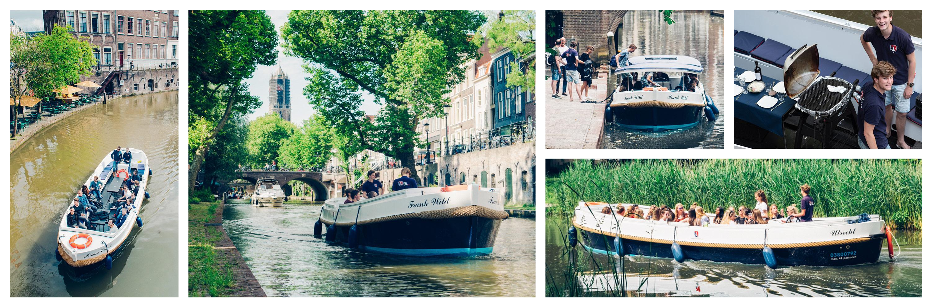 Tarieven Boot huren en varen Utrecht sloep schipper