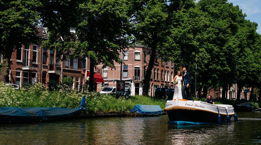huwelijksbootje oosterkade