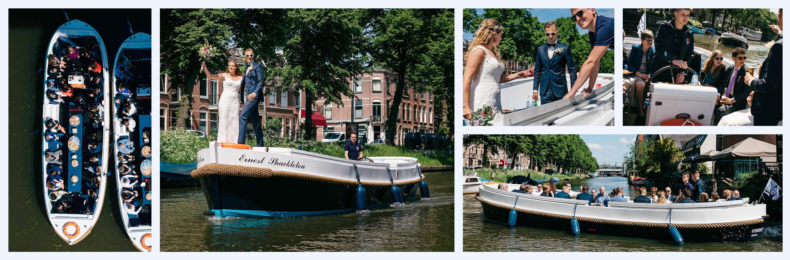 bruiloft of trouwerij boot utrecht
