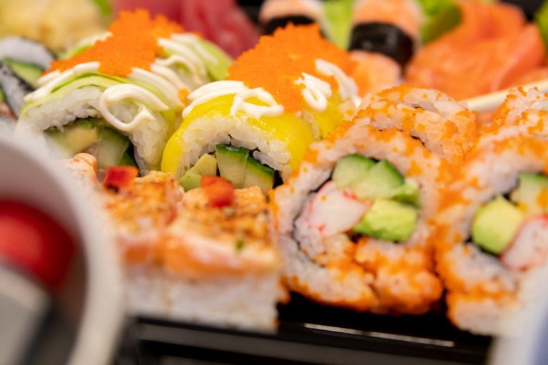Sushi package