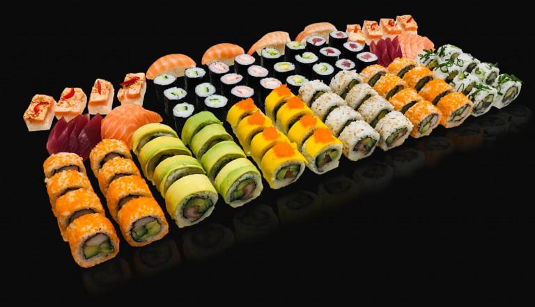 Sushi-arrangement